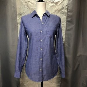 Old Navy Blue Button-down Shirt